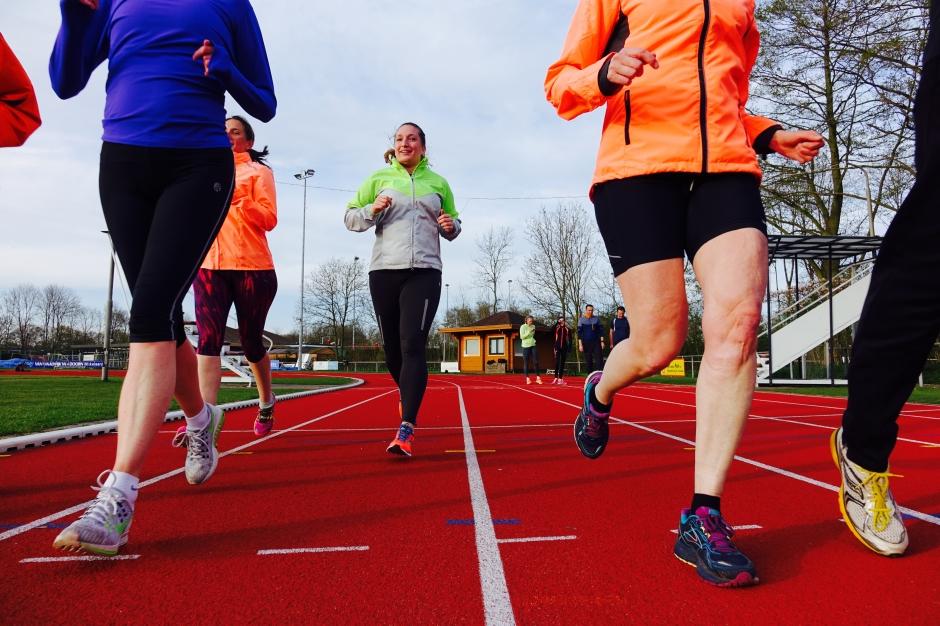 Trainen hardlopen recreatief