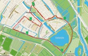 Parcours Velserbroekloop 2017