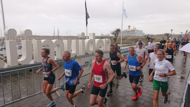Start Pierloop. Foto De Jutter