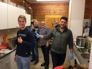 Vrijwilliger Keukendienst AV Suomi