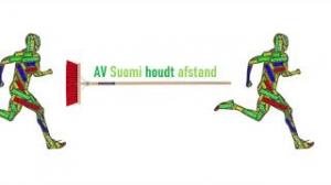 StayHome Estafette AV Suomi Dinsdagavondgroep