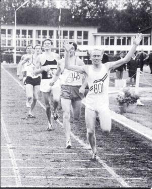 Ton Blok oud-atleet AV Suomi jaren '60