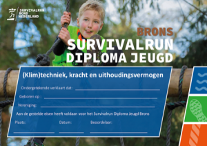 Survivalrun diploma AV Suomi Santpoort